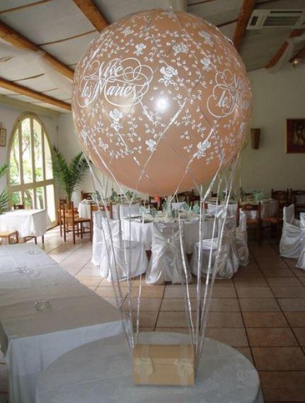 D co ballons animafun - Decoration de ballon pour mariage ...